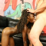 Dirty Black Slut Destinee Jackson Gets All Her Holes Dominated